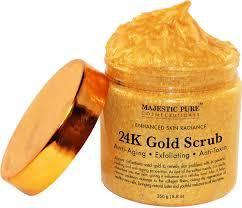 Scrub Gold majestic 24k gold and scrub ancient