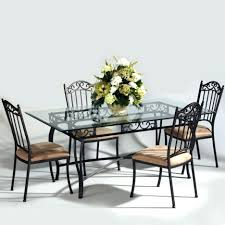 Glass Top Dining Table Online India Wrought Iron Chair And Table U2013 Adsleame Com