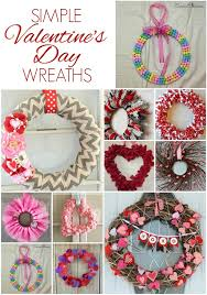 valentines day wreaths 12 simple s day wreaths carrie