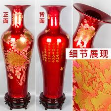 Colored Crystal Vases Aliexpress Com Buy Crystal Glaze Jingdezhen Ceramics Large Floor