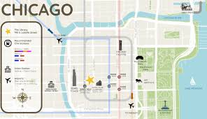 Chicago Midway Map by