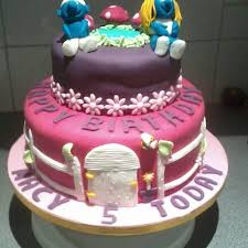 smurf cake the great british bake off