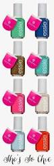 colors go from bright to brighter with this essie lilly