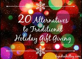 buy nothing christmas and 20 alternatives to holiday gift giving