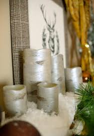 pottery barn knockoff diy birch candles hometalk