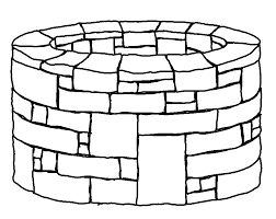 preschool coloring pages woman at the well joseph thrown in the well vbs pinterest preschool bible