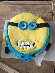 minions cake psbattle this creepy minions cake photoshopbattles