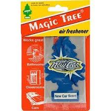 air freshener new car smell brand new car scent smell aroma carded magic tree in car air