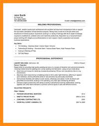 Welding Resume Examples 9 Sample Of A Canadian Job Cv Dtn Info