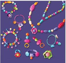 necklace making set images Wholesale 2017 children diy handmade string beads toy set puzzle jpg