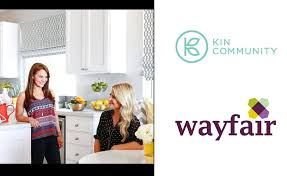 wayfair kin community to debut home makeover show starting with