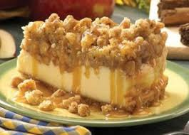 watering apple crisp cheesecake recipe