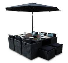 black wicker patio furniture sets black rattan cube outdoor furniture 10 seater set quality