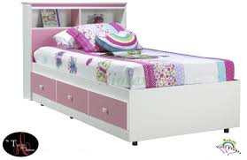 twin with bookcase headboard designs make remarkable bedroom for