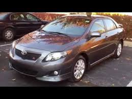 used 2009 toyota corolla s navigation for sale georgetown auto