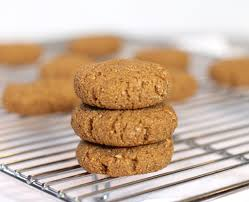 spiced ginger molasses cookies with almond meal u2013 honest cooking
