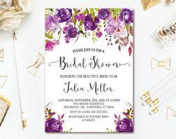 etsy wedding shower invitations floral bridal shower invitation navy pink gold bridal