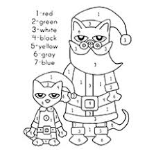 20 free printable pete cat coloring pages