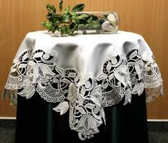 imported german lace tablecloths