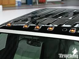 2017 f350 cab lights 2011 ford f 350 black mamba dually truckin magazine