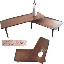 Boomerang Coffee Table Bassett Artisan Surfboard Boomerang Coffee Table In Sonoma County