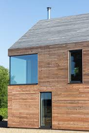 rural barn style house by mawsonkerr architects