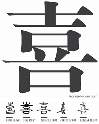happiness symbol the symbol for happiness language chinadaily cn