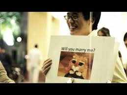 Meme Wedding Proposal - marriage proposal using internet memes youtube