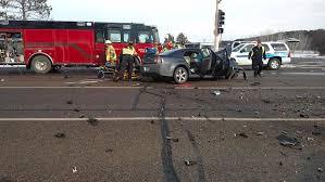 saturday crash seriously injures teenager brainerd dispatch
