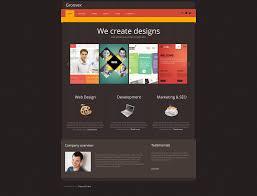 website template 47028 groovex design studio custom website