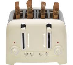 Amazon Dualit Toaster Buy Dualit Dl4c 4 Slice Toaster Cream Free Delivery Currys