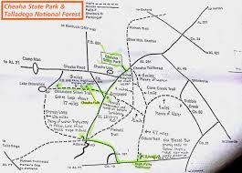 Map Of Custer State Park by Cheaha Map Camping Waterfalls Free To Camp In The National