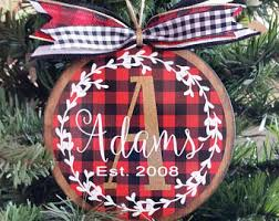 wooden ornaments etsy