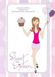 Sweet Sixteen Invitations Cards Sweet Sixteen Birthday Cards Lilbibby Com