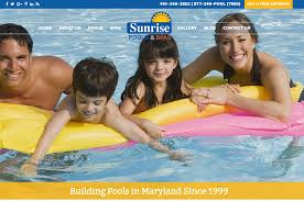 swimming pool builders pool design installation u0026 services in md