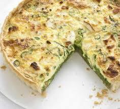 cuisine quiche pea mint goat s cheese quiche recipe food