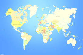 Map Of The World Countries by World Map A Clickable Map Of World Countries Simple Eath