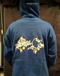 bar mitzvah favors sweatshirts hooded sweatshirt with rock n roll logo the event of a lifetime