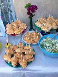 mermaid themed baby shower mermaid baby shower ideas croissant crabwiches for
