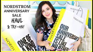 huge nordstrom anniversary sale haul u0026 try on youtube