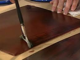 Painting On Faux Leather How To Create A Faux Mahogany Finish How Tos Diy