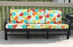 thrift store rattan sofa makeover hometalk