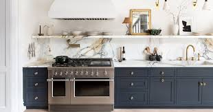 navy blue and grey kitchen cabinets navy kitchen cabinets go well with white counters but what
