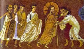 Jesus Healed The Blind Man Jesus Christ Miracles Healing Two Blind Men In Matthew 9