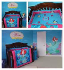 Little Mermaid Comforter Blankets U0026 Swaddlings Little Mermaid Bedding Set Full Size In