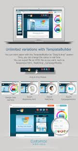 Responsive Html Email Template by Flat Responsive Email Template By Akedodee Themeforest