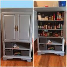 Kitchen Stand Alone Pantry by Convert Tv Armoire To Pantry Google Search Pantry Pinterest