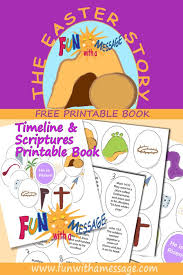 printable easter story book easter crafts easter ideas