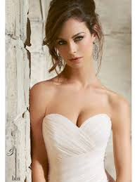 Fitted Wedding Dresses Mori Lee 5369 Tulle Fitted To The Hip Wedding Gown Ivory