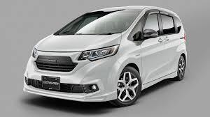 customized honda minivans will debut at the tokyo auto salon the
